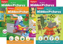 my first hidden pictures covers